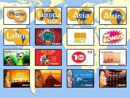 Carte Telefoniche Internazionali